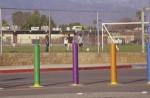 Rainbow Bollards