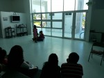 Theater workshop at Digital Library